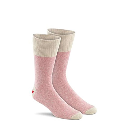 Large Pink Original Rockford Red Heel Socks