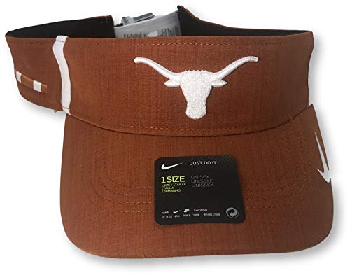 - Nike Texas Longhorns Aerobill Dri-Fit Vapor Adjustable Visor Hat
