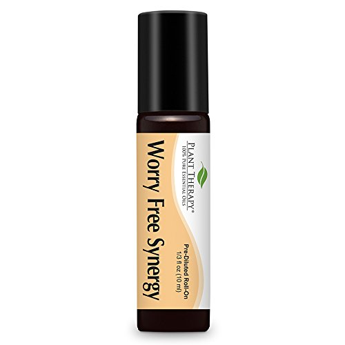 Single Perfume Oils (Worry Free (Stress Free) Synergy Pre-diluted Essential Oil Roll-on. 10 ml (1/3 oz). Ready to Use! Blend Of: Lavender, Marjoram, Ylang Ylang, Sandalwood, Peru Balsam and Roman Chamomile.)