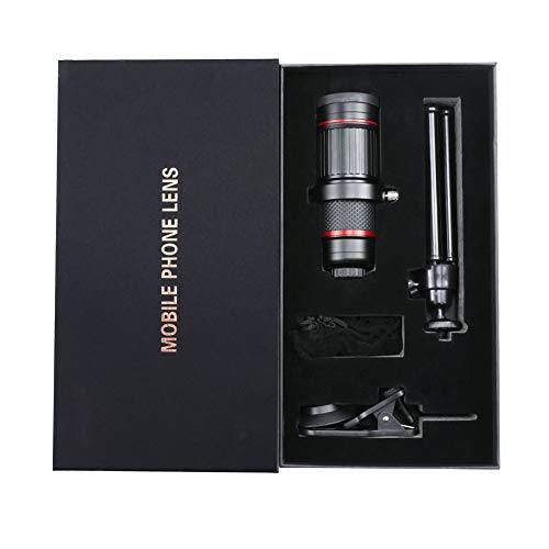 Phone Camera Zoom Lens,18x monocular for Adults with Clips, Zoom Lens for Android Phone to Watch Bird,Travel and Outdoor Games.