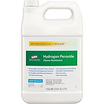Clorox CLO30829 30829 Hydrogen Peroxide Cleaner, 1 gal 1/BT (Pack of 2)