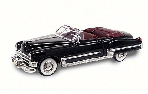 Road Signature 1949 Cadillac Coupe de Ville Convertible, Black 94223 - 1/43 Scale Diecast Model Toy Car