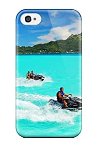 New Diy Design Bora Bora For Iphone 4/4s Cases Comfortable For Lovers And Friends For Christmas Gifts
