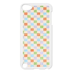 Custom Check Pattern Back Cover Case for ipod Touch 5 JNIPOD5-042