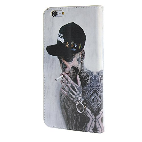 """MOONCASE Case für iPhone 6 Plus (5.5"""") Tasche Flip Leder Schutzhülle Etui Case Cover Hülle Schale / a13"""