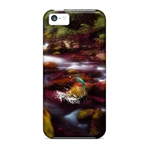 DrunkLove Fashion Protective Realm Of The Kingfishers Case Cover For Iphone 5c