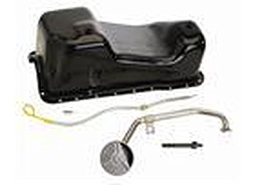 Ford Racing M6675A58 Oil Pan Kit, Includes Rear Sump, 6 Quart by Ford