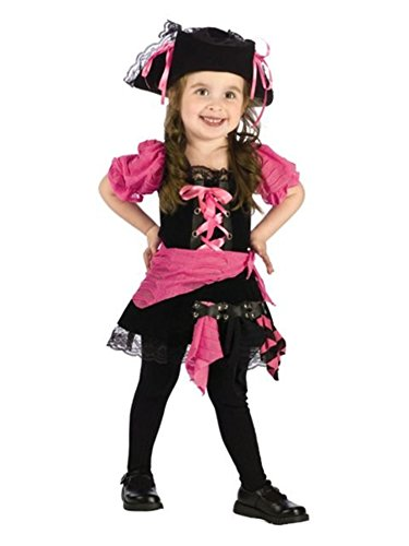 Fun World Pink Punk Pirate Toddler