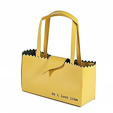 f7942948dbf5b2 regenesi Shorty Fruit Bag - sac en cuir régénéré fait main en Italie - jaune:  Amazon.fr: Chaussures et Sacs