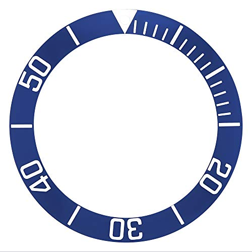 Bezel Insert for 43MM CASE TAG HEUER AQUARACER 300MCHRONO CAN1011.BA0821 Blue