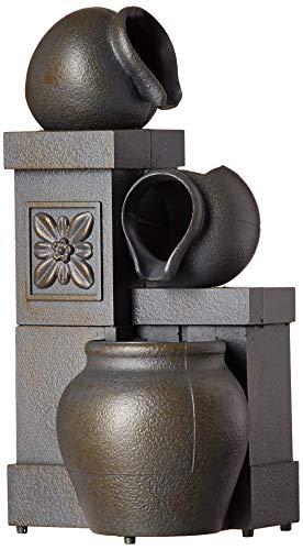 Vintage Rustic Vase Indoor Decor Water Fountain Tabletop Wat