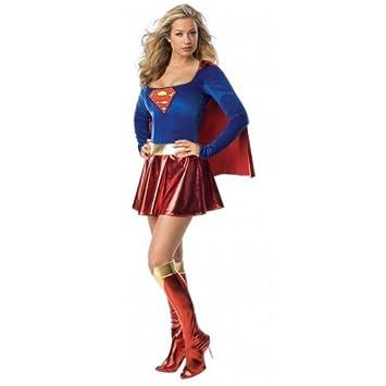 ee5c4601a487a Déguisement Supergirl Costume - Taille 12-14  Amazon.fr  Jeux et Jouets
