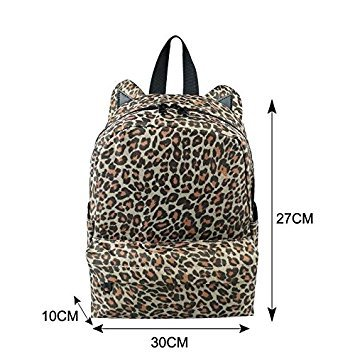 TOP-MAX Zaino Casual, Leopard (leopardo) - TOP-MAX