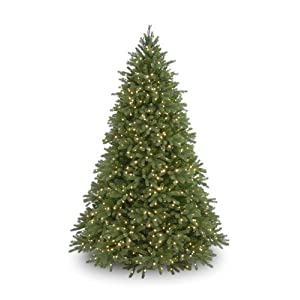 "National Tree 7.5 Foot ""Feel Real"" Jersey Fir with 1250 Clear Lights (PEJF1-300-75) 31"