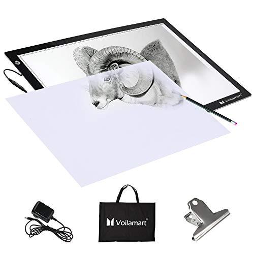Voilamart A3 Tracing Board Ultra-thin Brightness Adjustable LED Drawing...