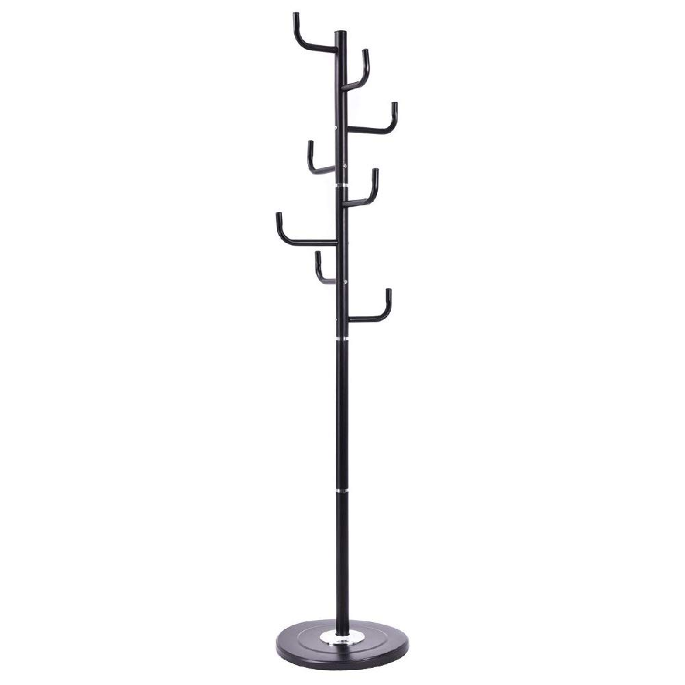 Hanger Tree Clothes Coat Rack Garment Bag Hooks Storage Handbag Stand Holder by Sgood (Image #1)
