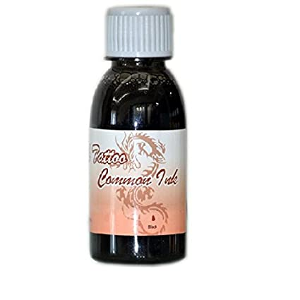 a4d7ec7724591 Buy Common Ink Temporary Tattoo Airbrush - 100ml (Black) Online at Low  Prices in India - Amazon.in