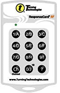 Turning Technologies Response Card RF Clicker