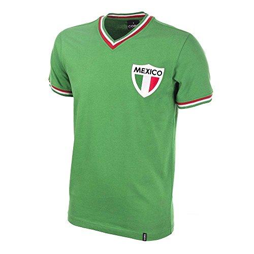 Copa Classics Mexico Pele 1980\'s Short Sleeve Retro Football -