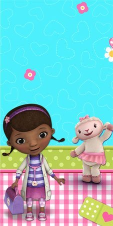 Doc McStuffins Plastic Table Cover ()