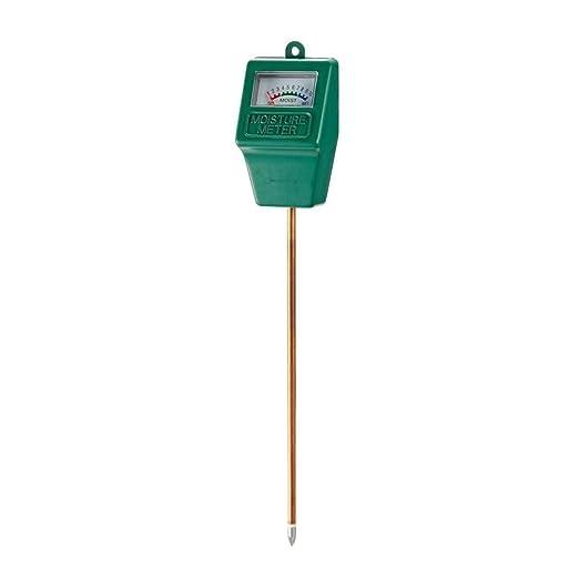 UEETEK probador ph de tierra, sensor de humedad del higrómetro del monitor del agua del suelo para la granja del jardín Plantas del césped al aire libre de ...