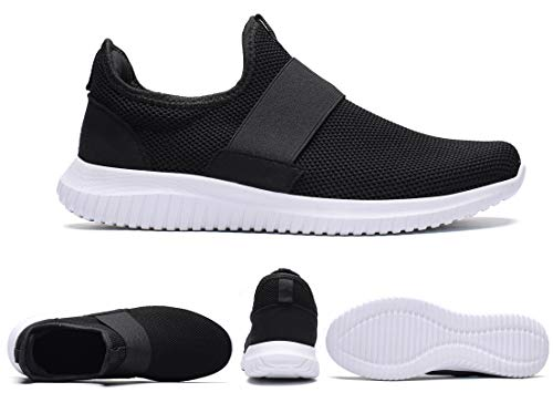 innovative design b518a 8c425 La Moster Men s Athletic Running Shoes Fashion Sneakers Casual Walking Shoes  for Men Tennis Baseball Racquetball