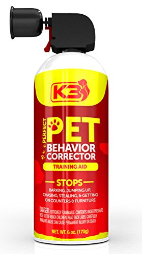 Perfect Pet Behavior Corrector Stops Unwanted Behavior in Any Pet - Barking, Jumping, Growling, Scratching, Digging - The Safe & Humane Way to Train Your Pet - 100% Satisfaction Guarantee Large 6 oz.