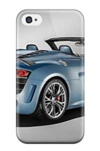 (FMrRdCV26138sWuWd)durable Protection Case Cover For Iphone 4/4s(audi R8 Spyder 26)