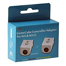Mayflash GameCube Controller Adapter for Wii & Wii U (Dual Pack)