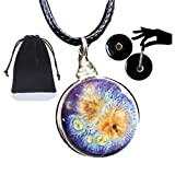 Best Cosmos Eye Glasses - Purple Cosmos Glass Essential Oil Diffuser Aromatherapy Pendant Review