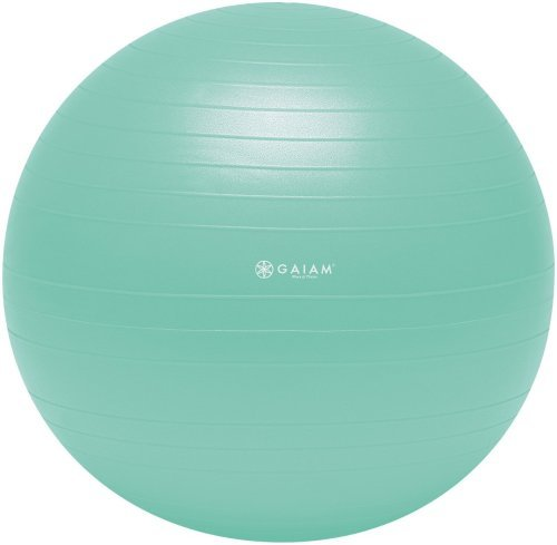 Gaiam Balance Ball Beginner Kit (Medium, Grün) by Gaiam