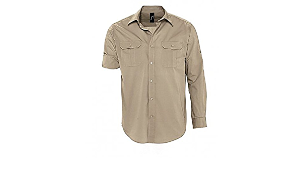 SOLS - Camisa de mangas enrollables modelo Bolivia para ...