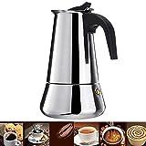 IronFizz897 Coffee Pots Coffee Makers Italian Top Moka Espresso Cafeteira Percolator 100/200/200/450 Ml Stovetop Coffee Maker Pot