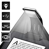 Too Goods Book Light LED Lamp USB Rechargeable Flexible Night Reading 4 Level Brightness 360 °Adjustable Clip on Work/Desk/Bed Amazon Kindle/Ebook Reader Ipad