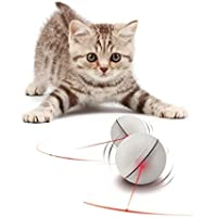Cat Toys,Topsky Automatic Rolling Ball Best Interactive Toy for Cat / Kitten and Puppy Dog White