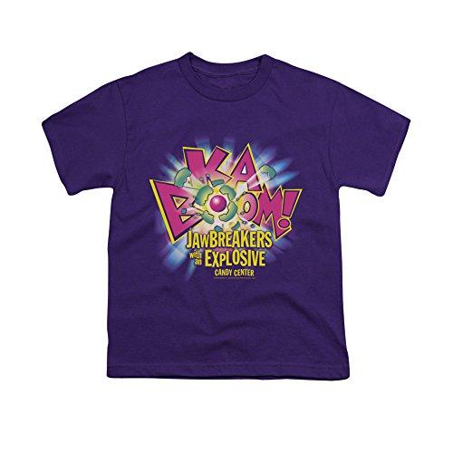 Vintage DUBBLE BUBBLE/KA BOOM Short Sleeve Youth Purple Small