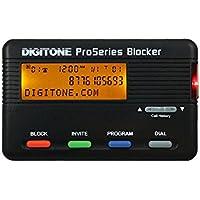 Digitone ProSeries Call Blocker - Call Block All Unwanted Robocalls, BackLit Display, Block Names or Numbers, 1,000 Numbers Virtual Memory, Last Call Remote Entry