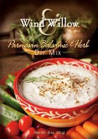 - Wind & Willow Parmesan Balsamic & Herb Dip Mix Boxes, Pack of 2 by Wind & Willow