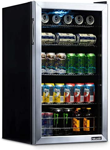 NewAir NBC126SS02 Beverage Refrigerator Degrees product image
