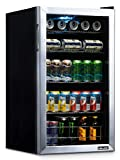 NewAir NBC126SS02 Beverage Refrigerator and Cooler