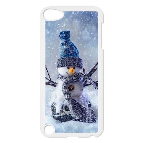 Snowman Wholesale DIY Phone Case for iPod Touch 5,Customized Cover Case