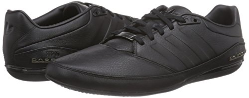 6d3843757ca3 adidas Originals Men s Porsche Typ 64 2.0 Black Leather Sneakers - 11 UK   Buy Online at Low Prices in India - Amazon.in