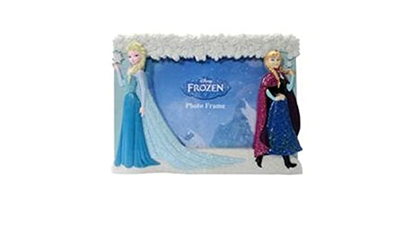 Amazon.com: Frozen Elsa and Anna 4x6 Photo Picture Frame: Home & Kitchen