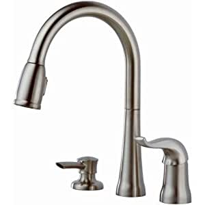 Delta 16970-SSSD-DST Kate Single-Handle Pull-Down Kitchen Faucet with Magnetic Docking Spray Head, Stainless