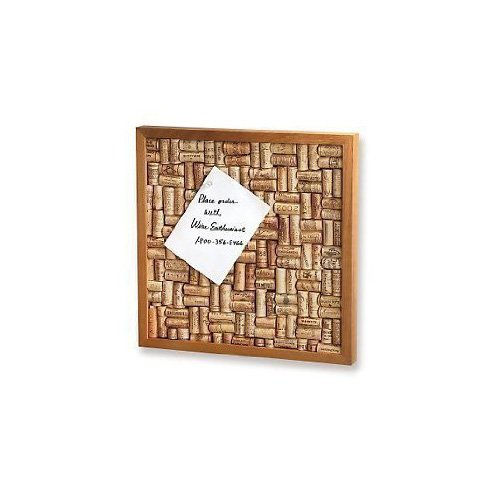 Wine Enthusiast Wine Cork Board Kit