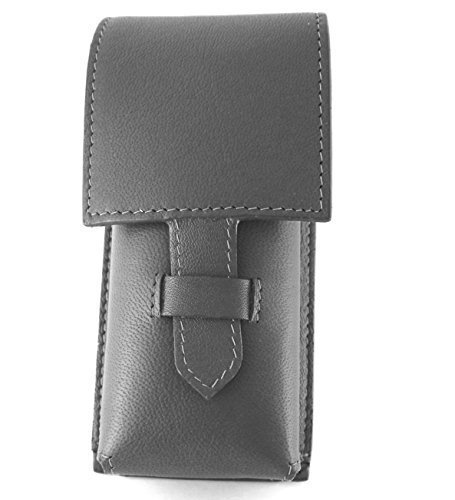 (Sheep Napa Leather Case for Badger Brush - Protective/Travel Case)