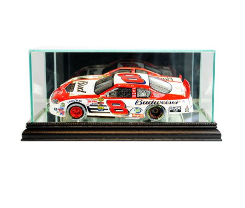 - Perfect Cases NASCAR 1/24th Glass Display Case, Black
