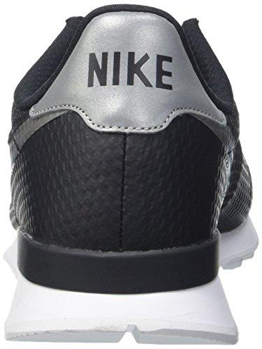 Nike Internationalist NS, Chaussures de Sport Homme, Noir Multicolore (Black/Mtllc Slvr/Flt Slvr/Wht)