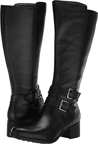 Naturalizer Women's Dale Knee High Boot, Black Watch, 10 M US