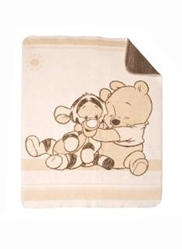 Julius Zöllner 9630010035 - Couverture Winnie et Tigrou - 75x100 cm by BabyCentre